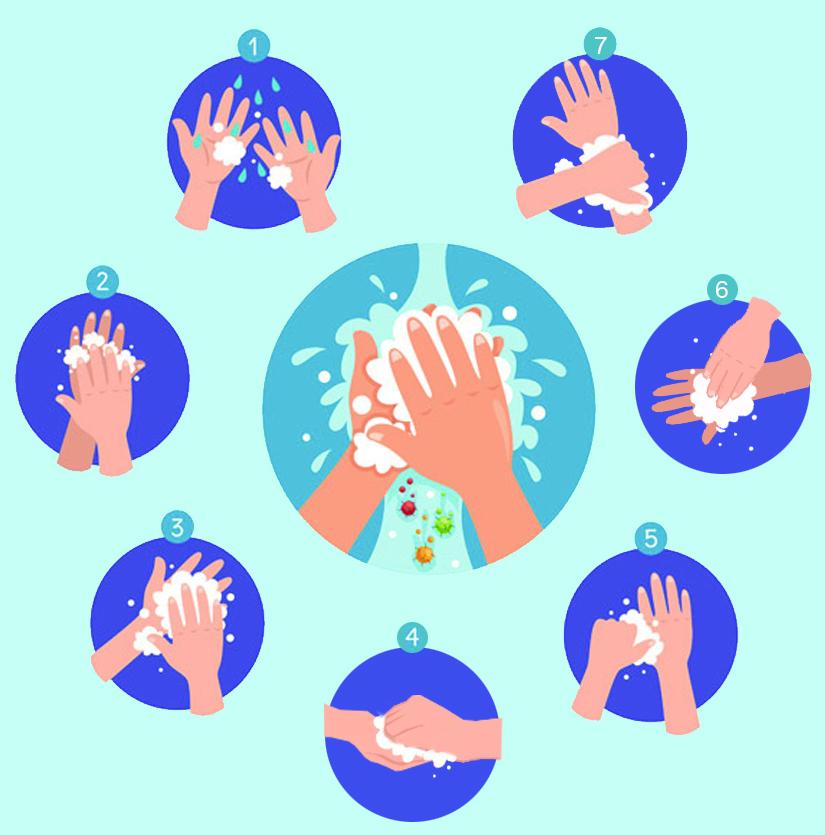 勤洗手 讲卫生