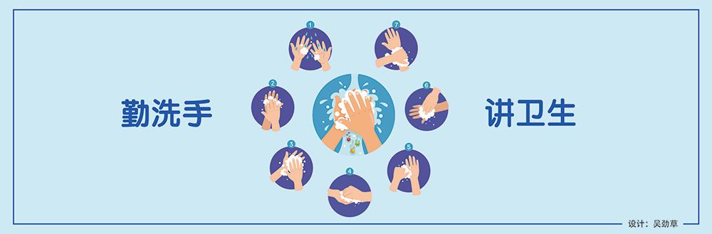 公益广告丨勤洗手 讲卫生